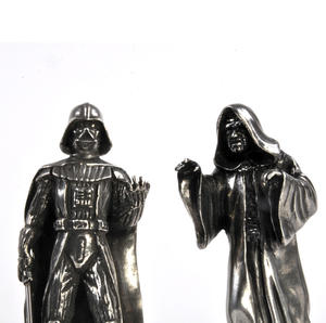 Sidious and Vader - King and Queen Star Wars Chess Pieces by Royal Selangor Thumbnail 1