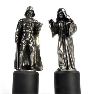 Sidious and Vader - King and Queen Star Wars Chess Pieces by Royal Selangor Thumbnail 2