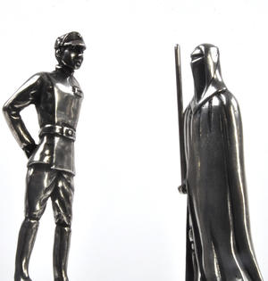 Imperial Officer and Royal Guard - Bishop and Knight Star Wars Chess Pieces by Royal Selangor Thumbnail 3