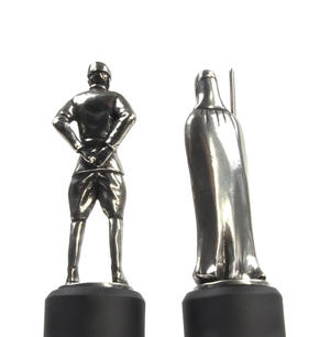 Imperial Officer and Royal Guard - Bishop and Knight Star Wars Chess Pieces by Royal Selangor Thumbnail 5