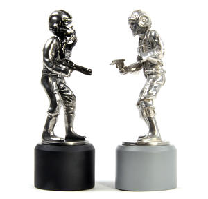 Rebel and Imperial Pilot  - Rook Star Wars Chess Pieces by Royal Selangor Thumbnail 2