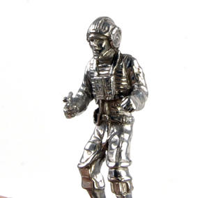 Rebel and Imperial Pilot  - Rook Star Wars Chess Pieces by Royal Selangor Thumbnail 5