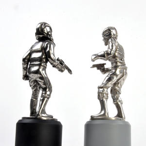 Rebel and Imperial Pilot  - Rook Star Wars Chess Pieces by Royal Selangor Thumbnail 7