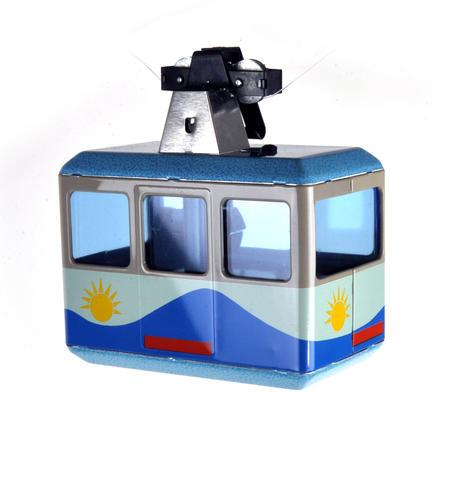 Alpine Cable Car - Clockwork Collector's Model