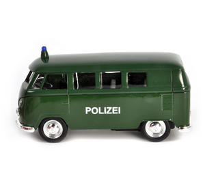 Volkswagen Camper - Green Polizei German Model Police Vehicle