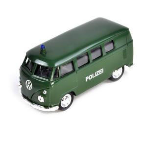 Volkswagen Camper - Green Polizei German Model Police Vehicle Thumbnail 3
