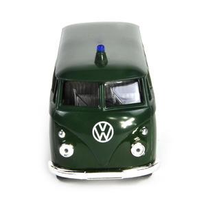 Volkswagen Camper - Green Polizei German Model Police Vehicle Thumbnail 4