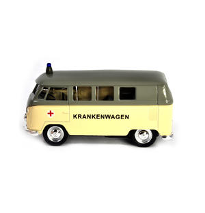Volkswagen Camper - Cream Krankenwagen German Model Ambulance Thumbnail 1