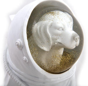 Space Dog Snow Globe