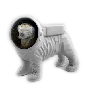 Space Dog Snow Globe Thumbnail 3