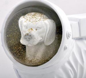 Space Dog Snow Globe Thumbnail 4