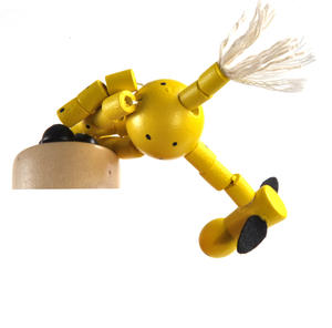 The Drunk Yellow Cow - Classic Wooden Collapsing Animal Thumbnail 7