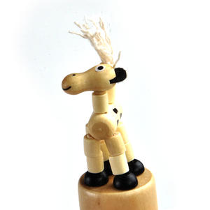 The Drunk Spotty Dog - Classic Wooden Collapsing Animal Thumbnail 3