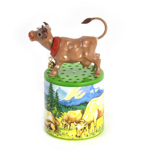 Austrian Moo Box - Classic Mooing Sound Cow - Turn Upside Down Thumbnail 2