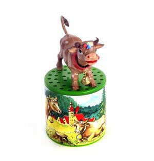 Austrian Moo Box - Classic Mooing Sound Cow - Turn Upside Down Thumbnail 3