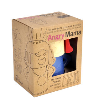 Angry Mum Microwave Cleaner - Add Vinegar and She Blows Her Top Thumbnail 5