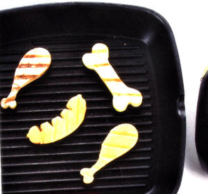 BBQ Veggies - Set of 3 Veggie Cutters Thumbnail 2