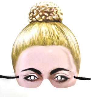 Lady Gaga Party Mask Thumbnail 1