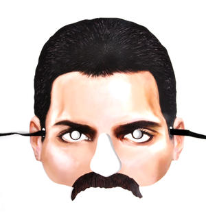 Freddy Mercury Party Mask Thumbnail 1