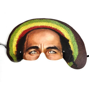 Bob Marley Party Mask Thumbnail 1