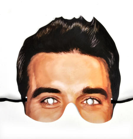 Robbie Williams Party Mask