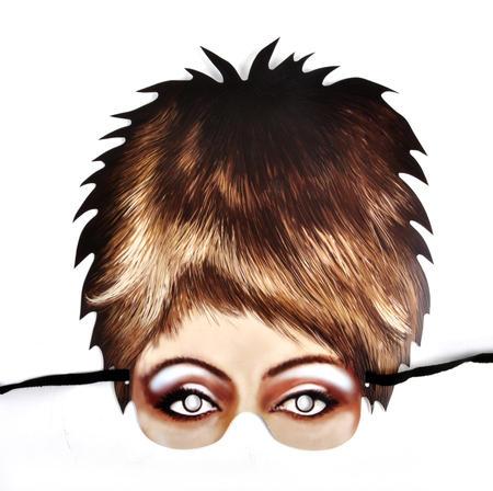 Tina Turner Party Mask