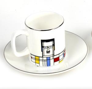 Great Modern Artists Espresso Set - Piet Mondrian Thumbnail 2