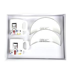 Great Modern Artists Espresso Set - Piet Mondrian Thumbnail 4