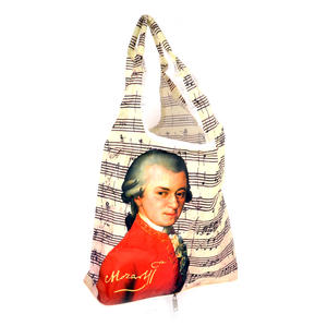Mozart - Bag in a Bag - Foldaway Zipper Shopper Bag Thumbnail 1