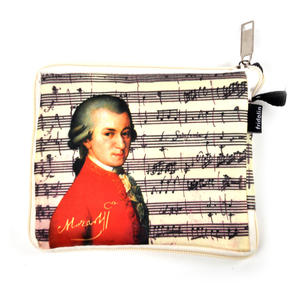 Mozart - Bag in a Bag - Foldaway Zipper Shopper Bag Thumbnail 3