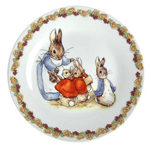 Beatrix Potter Peter Rabbit Peter Rabbit Flower Band Breakfast - Set of 3 Pieces Thumbnail 2