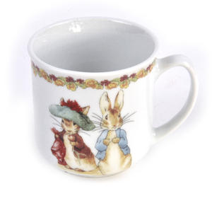 Beatrix Potter Peter Rabbit Peter Rabbit Flower Band Breakfast - Set of 3 Pieces Thumbnail 4