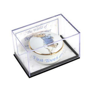 Beatrix Potter Peter Rabbit First Tooth and Curl Round Box Thumbnail 2