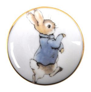 Beatrix Potter Peter Rabbit First Tooth and Curl Round Box Thumbnail 5