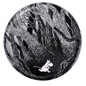 Running Moomin in the Forest - Bamboo Table Tray