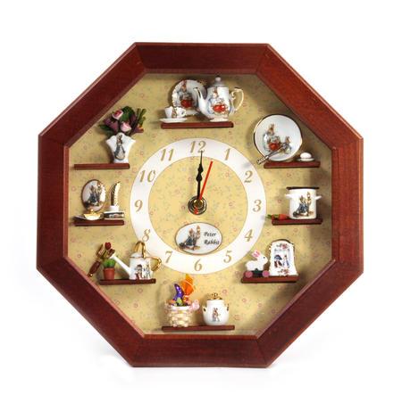 Beatrix Potter Peter Rabbit & Friends Wall Clock