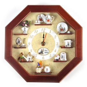 Beatrix Potter Peter Rabbit & Friends Wall Clock Thumbnail 2