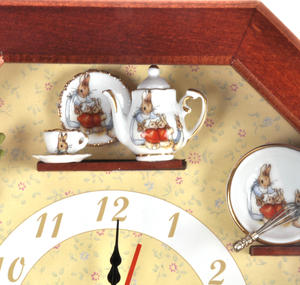 Beatrix Potter Peter Rabbit & Friends Wall Clock Thumbnail 3