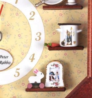 Beatrix Potter Peter Rabbit & Friends Wall Clock Thumbnail 4