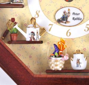 Beatrix Potter Peter Rabbit & Friends Wall Clock Thumbnail 5