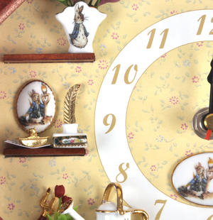 Beatrix Potter Peter Rabbit & Friends Wall Clock Thumbnail 6