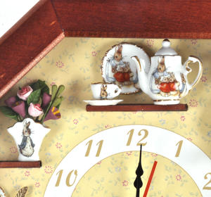 Beatrix Potter Peter Rabbit & Friends Wall Clock Thumbnail 7