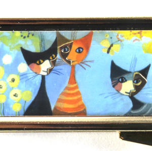 Rosina Wachtmeister - 7 Day Pill Box - La dolce vita - Cat Family Thumbnail 2