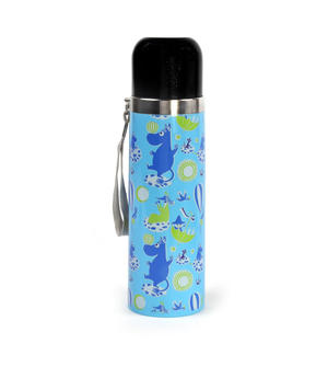 Moomin Tove 100 Blue Vacuum Flask