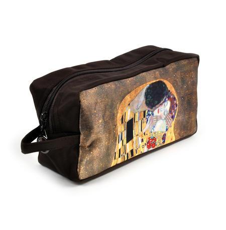 Gustav Klimt - Large Washbag / Cosmetics / Toiletry Bag - The Kiss