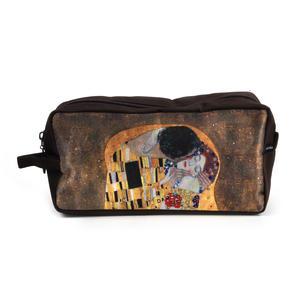 Gustav Klimt - Large Washbag / Cosmetics / Toiletry Bag - The Kiss Thumbnail 2