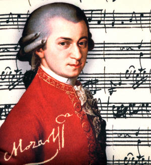 Mozart - Small Zipper Bag Thumbnail 2