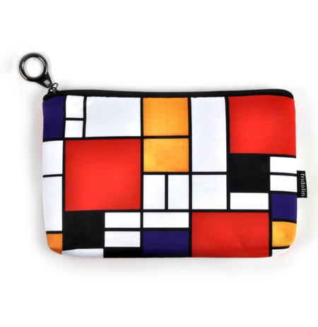 Piet Mondrian - Small Zipper Bag - Bauhaus