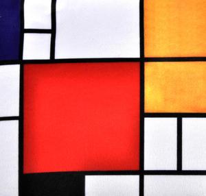 Piet Mondrian - Small Zipper Bag - Bauhaus Thumbnail 2