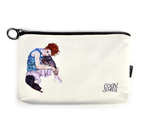 Egon Schiele - Small Zipper Bag - Edith